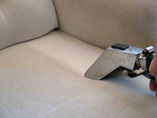 Furniture Upholstery Cleaning Closeup Sahuarita